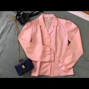 Beautiful vintage light pink shirt.